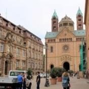 Speyer, Dom von der Maximilianstraße