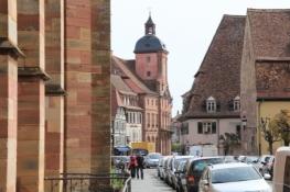 Wissembourg, Rathaus und Salzhaus