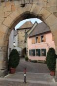 Eisentor mit innerem Vortor in Freinsheim