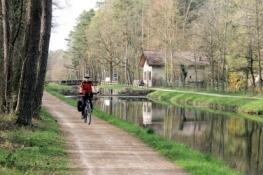 König-Ludwig-Kanal mit Schleuse und Schleusenwärterhaus