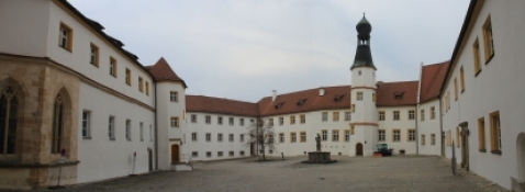 Sulzbach, Innenhof des Schlosses