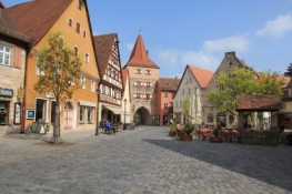 Lauf, Marktplatz am Hersbrucker Tor