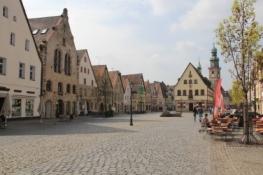 Lauf, Marktplatz mit Rathaus