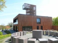 Spritnyt, meget specielt udsigtstårn på Askbjerg/Brand new very special lookout tower on Aschberg