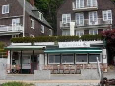 Fiskerestaurant i Blankenese/A seafood restaurant in Blankenese