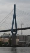 Det er en elegant skråstagsbro fra 1974/Itʹs a smart cable-stayed bridge from 1974.