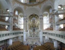 Dresden, Frauenkirche, Innenraum