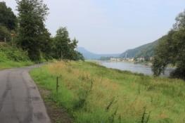 An der Elbe vor Bad Schandau