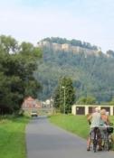Blick auf die Festung Königstein