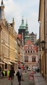 Pirna, Blick durch die Schössergasse