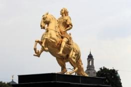 Dresden, Goldener Reiter in der Neustadt