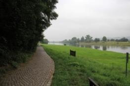 Elberadweg bei Obergohlis