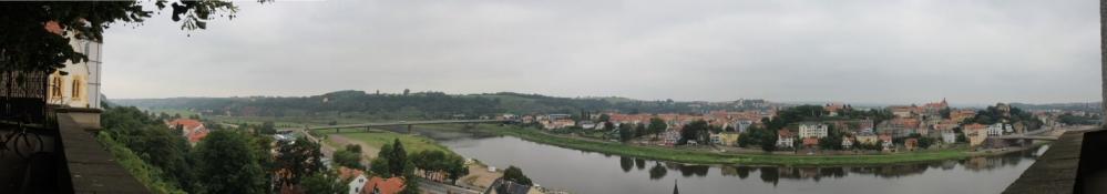 Meißen, Blick vom Burgberg