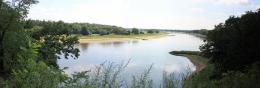 Elbe zwischen Griebo und Coswig