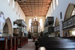 Barby, Marienkirche, Innenraum