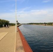 Elbe-Havel-Kanal am Wasserstraßenkreuz