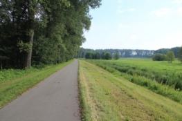 Auf dem Havelradweg bei Gollwitz