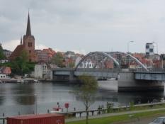 Min hjemby Sønderborg set fra ʹden kristelige sideʹ/My hometown, seen from the ʹChristianʹ side