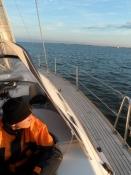 For sejl hele vejen til Damp/Sailing all the way to Damp