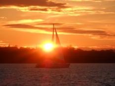 Smuk solnedgang/Beautiful sunset