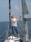 Der er for lidt vind til at sejle/The wind is to weak for sailing proper