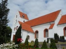 Lindelse kirke/The church of Lindelse