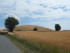 Typisk langelandsk hatbakke/A typical Langeland hat-shaped hill