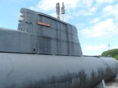 Stor, men lillebitte i forhold til de amerikanske ubåde/Large, but tiny compared to US submarines