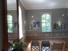 Der er også et kunstgalleri på Skovsgaard/The rooms also contain an art gallery