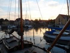 Aftenstemning i Svendborg havn/Evening atmosphere at Svendborg harbour