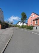 Bregnedalsvej på 18% er én af Danmarks stejleste bakker/One of Denmarkʹs steepest hills at 18%