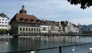 Luzern, Rathaus-Steg