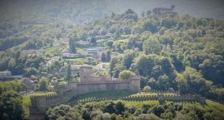 Bellinzona, Castello di Montebello und Castello Sasso Corbaro