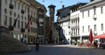 Bellinzona, Piazza Collegiata