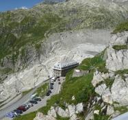 Furkastrasse, Hotel Belvédère und Rhonegletscher