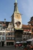 Solothurn, Zeitglockenturm, Marktplatz