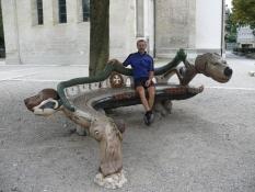 Winterthur, Kirchplatz (Ende unserer Radtour)