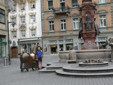 Konstanz, Marktstätte, Kaiserbrunnen