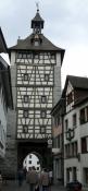 Konstanz, Schnetztor von der Hussenstraße