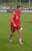 Den polske superangriber Robert Lewandowski/Polish super striker Robert Lewandowski