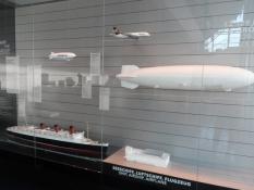 På zeppelin-museet i Friedrichshafen/At the zeppelin museum in Friedrichshafen