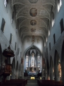 Domkirkeskibet i Radolfzell/The nave of the Radolfzell cathedral