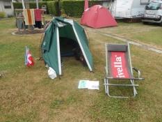 Sløv morgen på campingpladsen/A slow start on the campsite