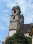Domkirken i Bad Säckingen/The cathedral of Bad Saeckingen