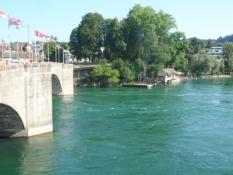 Rhinbroen i Rheinfelden/The bridge across the Rhine at Rheinfelden