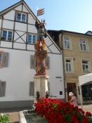 På torvet i Rheinfelden/On the market square of Rheinfelden