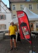 Meget schweizisk reklameflag/A very Swiss looking advertising flag
