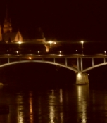 Basel by night