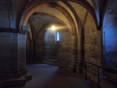 Parti fra krypten under domkirken/A part of the crypt under the cathedral