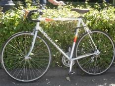 Veltjent racercykel fra 70ʹerne/Vintage racing bike from the seventies